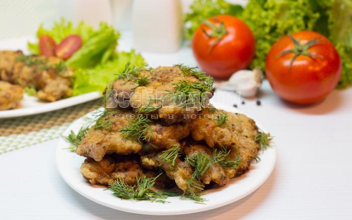 Нежные отбивные из говядины рецепт