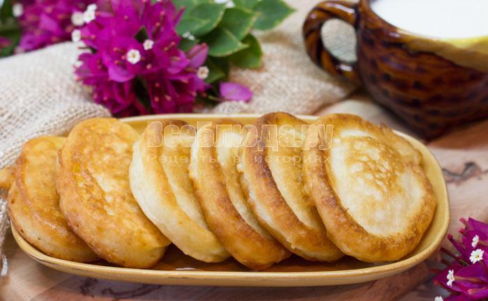 рецепт оладушки рецепт с фото пошагово