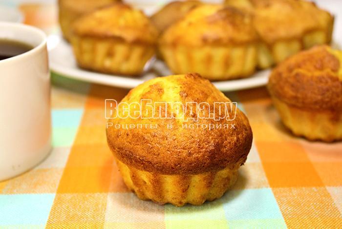 кексы с творогом рецепты с фото