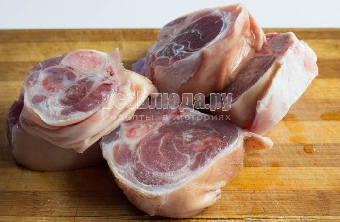 рецепт с фото свиная рулька